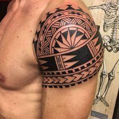 Maori tattoos – Tattoos And Maori Tattoo Arm, Half Sleeve Tribal Tattoos, Hawaiian Tribal Tattoos, Tribal Shoulder Tattoos, Quarter Sleeve Tattoos, Mens Shoulder Tattoo, Arm Band Tattoo, Samoan Tattoo, Polynesian Tattoo Designs