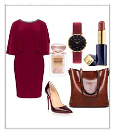 """Untitled #27"" by melisacamdzic ❤ liked on Polyvore featuring Lovedrobe, Christian Louboutin, Giorgio Armani, Estée Lauder and Abbott Lyon"