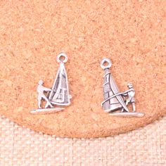 2021 Charms Windsurfing Windsurfer 22*14mm Antique Making Pendant Fit,Vintage Tibetan Silver,DIY Handmade Jewelry From Zhoufangyu5, $7.91 | DHgate.Com Metal Fashion, Fashion Jewelry, Windsurfing, Cheap Jewelry, Jewelry Findings, Charms, Handmade Jewelry, Valentines, Antiques