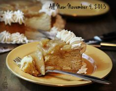 ~Holiday Spiced Pear Cheesecake~ - True Blue Baking