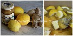 Sciroppo zenzero limone e miele contro tosse e raffreddore il mio saper fare