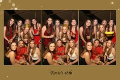 18th Birthday Party - Mirror Booth Hire