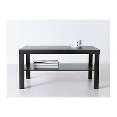 """LACK Coffee table - black-brown, 35 3/8x21 5/8 """" - IKEA"""
