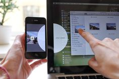 Great concept for sharing files between #computers and #phones.