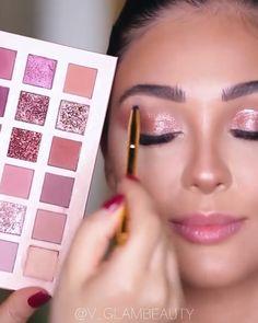 Eye Makeup Art, Soft Makeup, Glam Makeup, Eyeshadow Makeup, Face Makeup, Makeup Videos, Makeup Tips, Wedding Hairdos, Makeup Spray