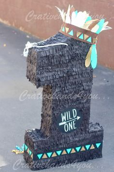 Tribal Wild One Piñata