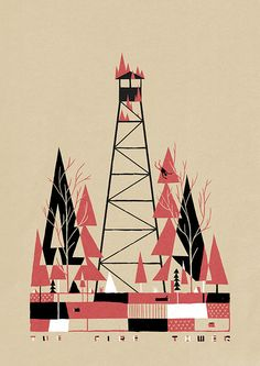 The Fire Tower by LukePersonified, via Flickr