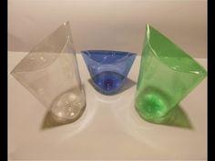 Reutilizando botellas plásticas - EL ESTUCHE - YouTube