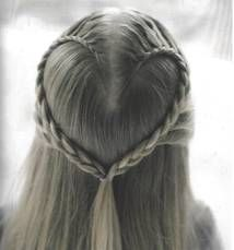 The Heart Braid - Step By Step How To - Holiday Hair Styles For Girls