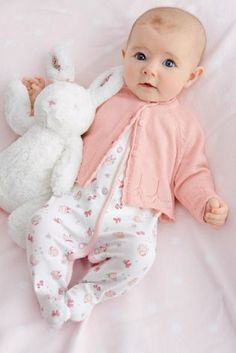 Pointelle Cardigan (0-18mths) at Next