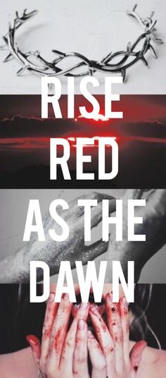 Vamos nos levantar, vermelhos como a aurora.