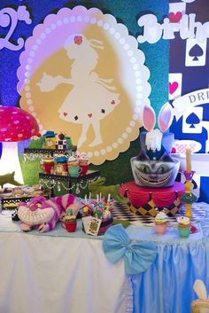 Alice in Wonderland Birthday Party Ideas | Photo 1 of 66 | Catch My Party