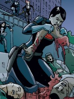 Maria Hill also eats people. Maria Hill, Comic Books, People, Anime, Movies, Character, Art, Art Background, Films