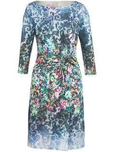 Basler - Jersey-Kleid mit 3/4-Arm - Multicolor