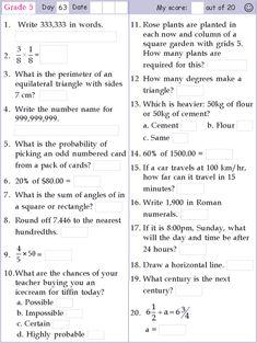 Oakdale homework help grade 5