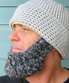 I have to have this pattern! Could you imagine a little bearded baby!