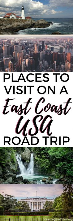 Budget Friendly East Coast USA Road Trip Destinations Pages of Travel : The Northeast USA is unlike any other region in the United States. Experience all of the seasons, a large number of historic sites, bustling cities and incredible national parks all Road Trip Usa, Road Trip Packing List, Road Trip Hacks, Usa Trip, Packing Lists, East Coast Usa, East Coast Travel, East Coast Road Trip, East Coast Vacations