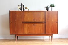 Danish Modern Bar Cabinet / Storage Credenza by SharkGravy on Etsy https://www.etsy.com/listing/475294998/danish-modern-bar-cabinet-storage