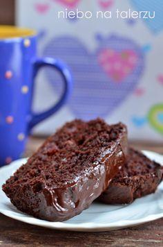 niebo na talerzu: Szybkie ciasto bananowe. Mocno czekoladowe, łatwe ciasto Cookie Recipes, Dessert Recipes, Desserts, Lime Cake, Healthy Cake, Polish Recipes, How Sweet Eats, Sweet Treats, Bakery