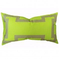 The Blush Label Amalfie Lumbar Pillow - Citron
