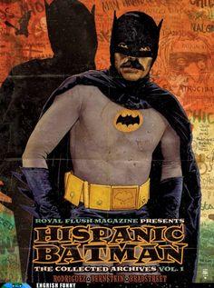 hispanic batman #batman #darknight #comic #mustache