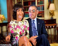 The Strange Obama's at Home