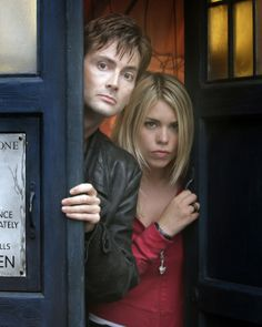 Dr Who David Tennant | Doctor Who - David Tennant & Billie Piper