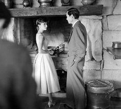 Audrey Hepburn,1955.