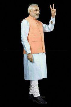 Narendra Modi Full Size Pic #NarendraModi #NaMo #Stylish #photo #NDModi #PmOfIndia