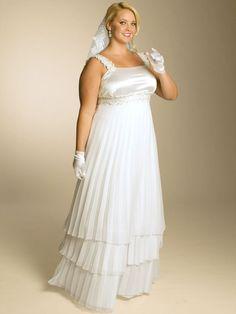 vestidos de novias para embarazadas - Buscar con Google