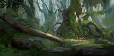 Skogen, Robin Olausson on ArtStation at https://www.artstation.com/artwork/skogen-dd1be58d-0caa-448e-95f6-6a6d1d6e932d