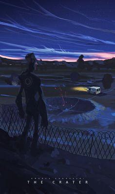 物語の入口。たった30分で描かれた美麗なSFコンセプトアート 2                                                                                                                                                                                 もっと見る