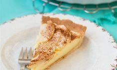 Kruche ciasto z kremem budyniowym i jabłkami Sweet Cakes, French Toast, Cupcake, Pie, Breakfast, Ethnic Recipes, Food, Torte, Morning Coffee