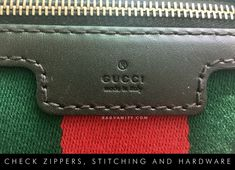 Gucci Authenticity Check   9 Ways to Spot a Real Gucci Handbag Vs. a Fake  (With Photos aae60706cfbfd