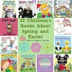 23 Affordable Children's Books About Spring and Easter -- these would make EXCELLENT additions to your child(ren)'s Easter baskets!