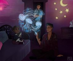 ¯\(◡‿◡✿) /¯ A night at the Lightwood-Bane residence   #LetAlecAdoptMadzie