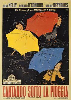 Singin' in the Rain (Stanley Donen, 1952) Italian design by Silvano Campeggi