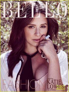 'Bello' Magazine - October 2013 issue | katie lowes