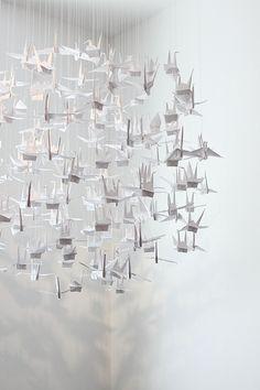 mobile, origami