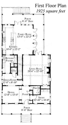 Country Historic Level One of Plan 73889