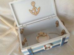 Alternative Ring Bearer Box for a Beach or Nautical Wedding