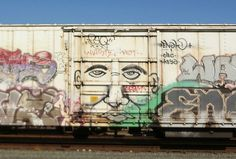 Railcar Graffiti Roseville, CA.