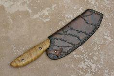 leather chef knife sheath