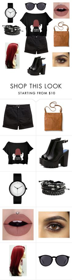 """""""My birthday is today 🍀 September 9"""" by jhutcher ❤ liked on Polyvore featuring H&M, Merona and Yves Saint Laurent"""