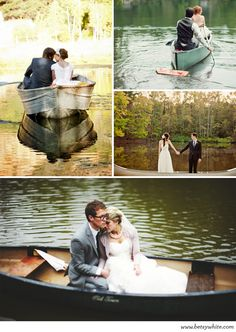 Rustic Style: Rowboats