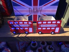 Cajitas de dulces británicas
