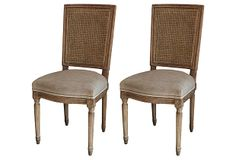 Emilie Dining Chairs, Pair on OneKingsLane.com