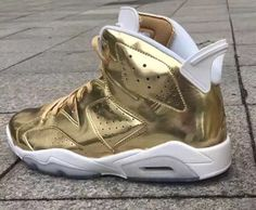 First Place Vibes For The Air Jordan 6 Pinnacle Metallic Gold