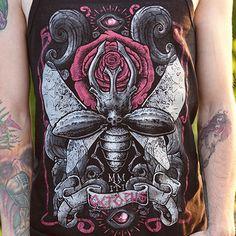 Bug Tank Top by OCTOPUS APPAREL