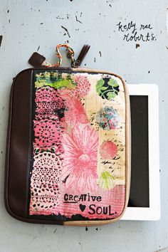 Tablet Cover-Creative Soul   Garden Gallery Iron Works
